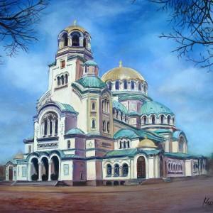 "Temple-monument ""St. Alexander Nevski"", Sofia"