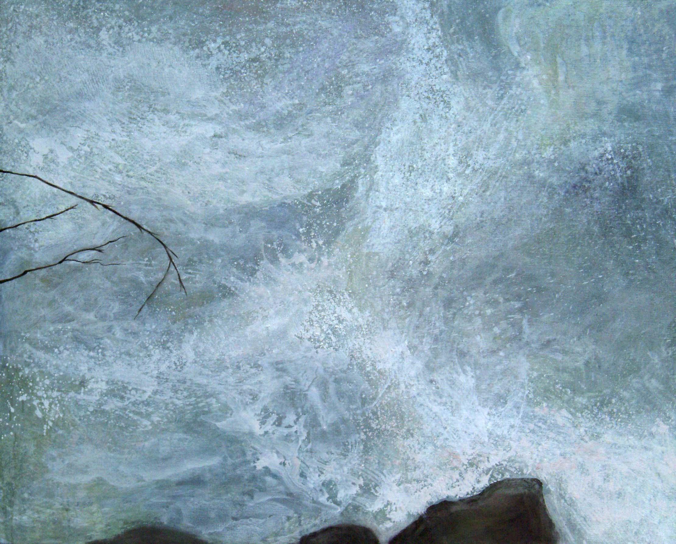 A torrential river